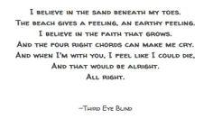 Third Eye Blind // Semi-Charmed Life.