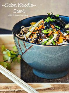 Soba Noodle Salad @Sandra @SECooking