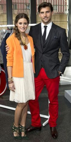 Olivia Palermo and Johannes Huebl: Their Most Stylish Couple Moments - March 9, 2013 from #InStyle