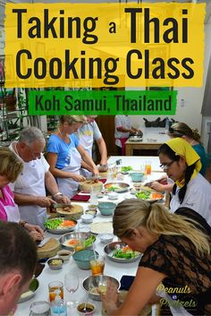 Our Thai Cooking Class - Learning from the Best on Koh Samui, Thailand - Peanuts or Pretzels