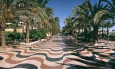 Alicante,  we have pics similar to this as we walked through here!