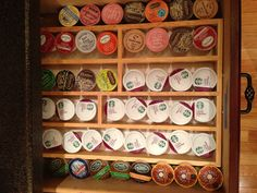 Keurig K Cup And Vue Cup Holder Or Storage Cabinet