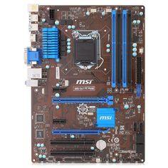 MSI B85-G41 PC Mate  — 4600 руб. —  Материнская плата для процессоров Intel.