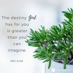 The destiny God has for you is greater than you can imagine. #MondayMotivation