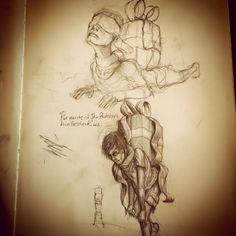 #sketch #drawing #painting #pencil #work #skullpellartwork.com #sinntraegertattoos #leipzig #sketching #steve bauer #pic #art #sketching #drawingtime #skizze #sinntraeger # tattoo #paket #paeckchen #present #last
