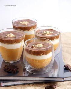 Pudding Desserts, Mini Desserts, Cookie Desserts, Dessert Recipes, My Favorite Food, Favorite Recipes, Polish Desserts, Good Food, Yummy Food