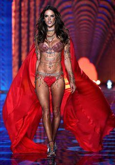 #Alessandra Ambrosio -- Fantasy Bra ensemble -- Victoria's Secret Fashion Show Runway Pictures, December 2nd, 2014 London | #VSFS #VSFS_2014