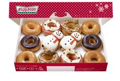 crispy cream donuts christmas2012