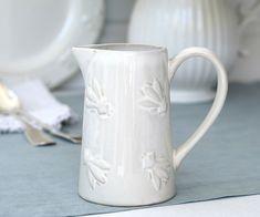 Abeille Petite Milk Jug - Country Bee White Creamer - Home Decor Online - New Arrivals