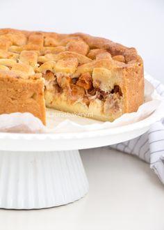 Appeltaart cheesecake - Laura's Bakery