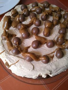 H μάνα του ... λόχου: Τούρτα σοκολάτας με κρέμα καραμέλας Recipies, Sweets, Desserts, Greek, Food, Recipes, Sweet Pastries, Postres, Gummi Candy