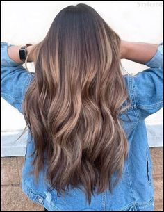 Melted Chocolate Caramel Hair Color for 2019 Melted . - Melted chocolate caramel hair color for 2019 Melted Chocolate Caramel Hair Color f - Brown Hair Balayage, Brown Hair With Highlights, Hair Color Highlights, Ombre Hair Color, Hair Color Balayage, Cool Hair Color, Brown Hair Colors, Ombre Balayage, Hair Colours