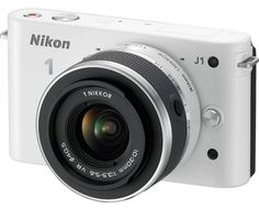 It's the real deal: Nikon makes the 1 and mirrorless compact system cameras officially official. After rampant internet speculation, Nikon confirms each will sport a megapixel CMOS sensor, a new 1 lens mount and full HD video. Vr Camera, Nikon Digital Camera, Small Camera, Digital Cameras, Small Digital Camera, Laura Lee, New Nikon, Nikon 1, Style