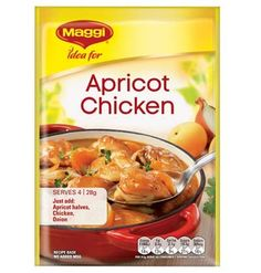 Apricot Chicken Maggi Recipes, Apricot Chicken, Balanced Meals, Turkey Dishes, Budget Meals, Chicken Thighs, Health And Nutrition, Mashed Potatoes, Dinner
