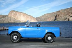 1965 International Harvester : Scout 80   I know that it's not a Jeep but this is just sweet