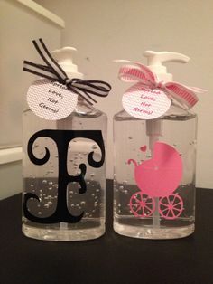 Personalized Hand Sanitizers. $4.00, via Etsy.