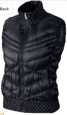 Womens Nike Cascade Down Vest Jacket Gilet Casual Running Large L RRP£90.00 | Coats & Jackets | Women's Clothing