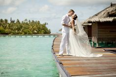 beautiful wedding in Maldives  Photography by TropicPic   #Maldivies #wedding #islands #photography