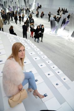 """pic from """"Journey to the center of the earth"""" Chanel runway show"""