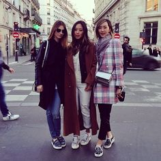Missing my girls! Had the best time with these babes in paris! A big Happy birthday to the gorgeous @aysyuva #missingparis #Padgram