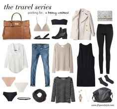 for a breezy weekend for travel or everyday life - I love this simple style! > capsule wardrobe inspirationfor travel or everyday life - I love this simple style! Look Fashion, Fashion Beauty, Winter Fashion, Womens Fashion, Fashion Tips, Travel Fashion, Weekend Fashion, Fashion Ideas, Fashion Forms