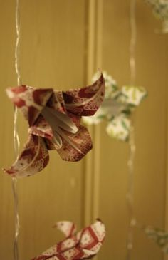 Origami Fairy Lights x 10 £18.00
