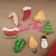 Mini cookies - sweetthingsbywendy.ca Edible Favors, Mini Cookies, Party Favours, Joy To The World, Sweet, Candy