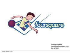 This Is The First Pitch Deck Foursquare Ever Showed Investors