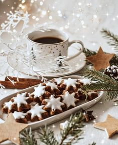 Cozy Christmas, All Things Christmas, Christmas Cookies, Christmas Time, Chocolate Baileys, Chocolate Coffee, Advent, Coffee Photos, Coffee Cafe