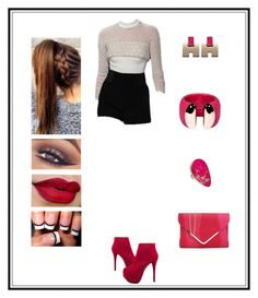 """""""Untitled # 69"""" by binasa87 ❤ liked on Polyvore featuring Luichiny, Mary Kay and Charles Albert"""
