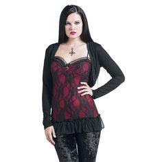 Gothicana by EMP  Bolero  »Lace Bolero« | Buy now at EMP | More Gothic  Boleros  available online ✓ Unbeatable prices!
