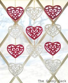 valentine's day ornaments decorations