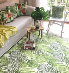 Missia Home Tropik Yapraklı HALI