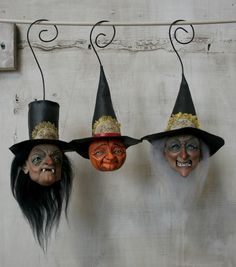 no link-just inspsiration: Halloween ornaments