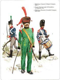 German Allies against Napoleon. Nassau and Oldenburg_ 1-Oldenburg: Caporal…