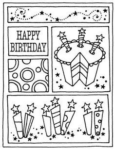 RV1-1408 Birthday Mini Frame