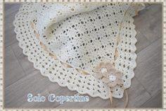 Copertine uncinetto e ferri con schemi e spiegazioni Crochet Necklace, Crochet Hats, Blanket, Tutorial, Alice, Woven Blankets, Tejidos, Knitting Hats, Blankets
