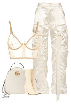 """Untitled #302"" by elarina ❤ liked on Polyvore featuring Balenciaga, La Perla, Gucci and adidas Originals"