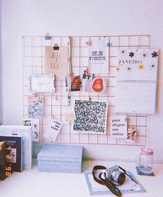 Wire Memo Board, Office Supplies, Instagram, Ideas, Condo, Cute, Stationery Shop, Thoughts