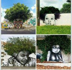 Afro trees