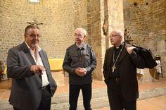 Saint-Estève a reçu la visite de Monseigneur Turini,  évêque du diocèse Perpignan-Elne