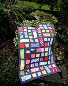A baby quilt for the Riley Blake challenge