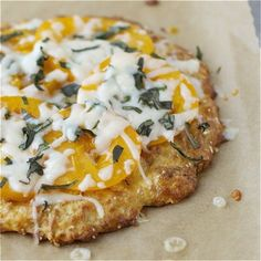 Coconut Flour Pizza Crust…