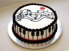 musical birthday cake - Google Search