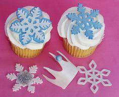 Elsa Frozen fondant cake decorations combination by BakedBeauties, $25.00