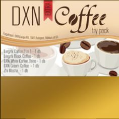 DXN - Extra Coffee Try Pack