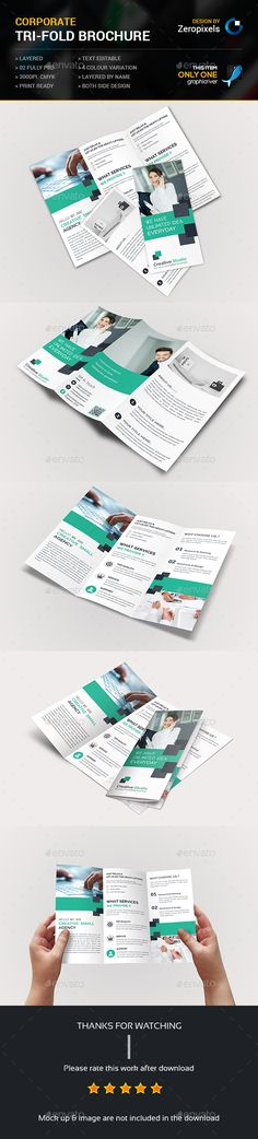 Tri fold Business Brochure Template PSD. Download here: http://graphicriver.net/item/tri-fold-business-brochure/15211373?ref=ksioks