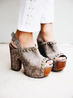 Trendy shoes.