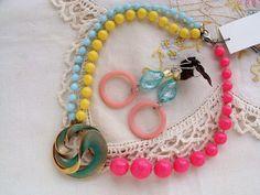 Repurposed Vintage Jewelry Vintage Pins and Bead by ReaganJuel, $40.00