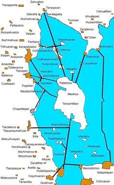 Tenochtitlan Aztec Empire, Aztec Ruins, Historia Universal, Mystery Of History, World History, Fantasy World, Mexico City, Central America, Archaeology